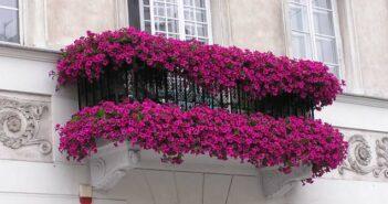 Balkon Dekoration