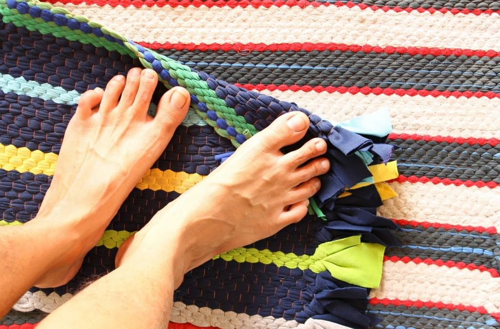 Gewebter Stoff als Material für Ihre Fußmatte vermittelt das Gefühl von Naturverbundenheit. (#2)