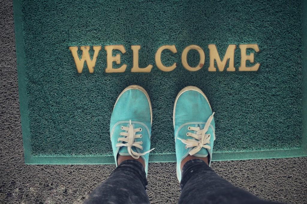 """Das """"Welcome"""" ist wohl der Klassiker. Für Fußballfans gibt es mannschaftsspezifische Knüller, die dem Heimkommenden stets das Herz höher hüpfen lassen.(#6)"""