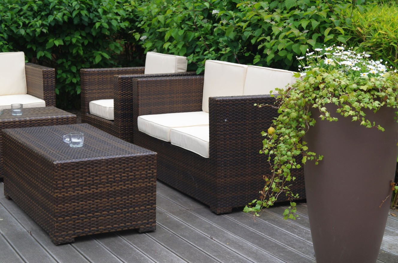 rattanm bel f r terrasse neuesten design. Black Bedroom Furniture Sets. Home Design Ideas