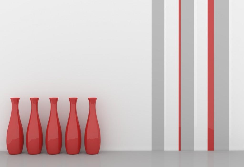Wand streichen: mit verschiedenen Farben und Flächen arbeiten. (#1)