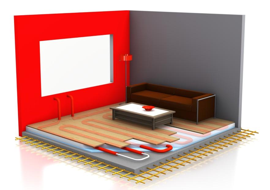 Planung einer Fußbodenheizung im Wohnzimmer (#2)