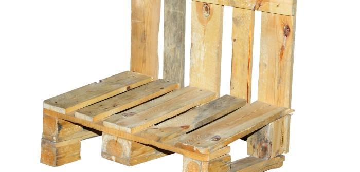Bauanleitung: Stuhl aus Europaletten selbst bauen