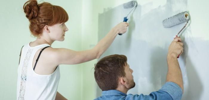 Wand streichen: Wände richtig streichen leichtgemacht