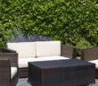 Sichtschutz für die Terrasse: Grüne Hecken sind ein hervorragender Sichtschutz.