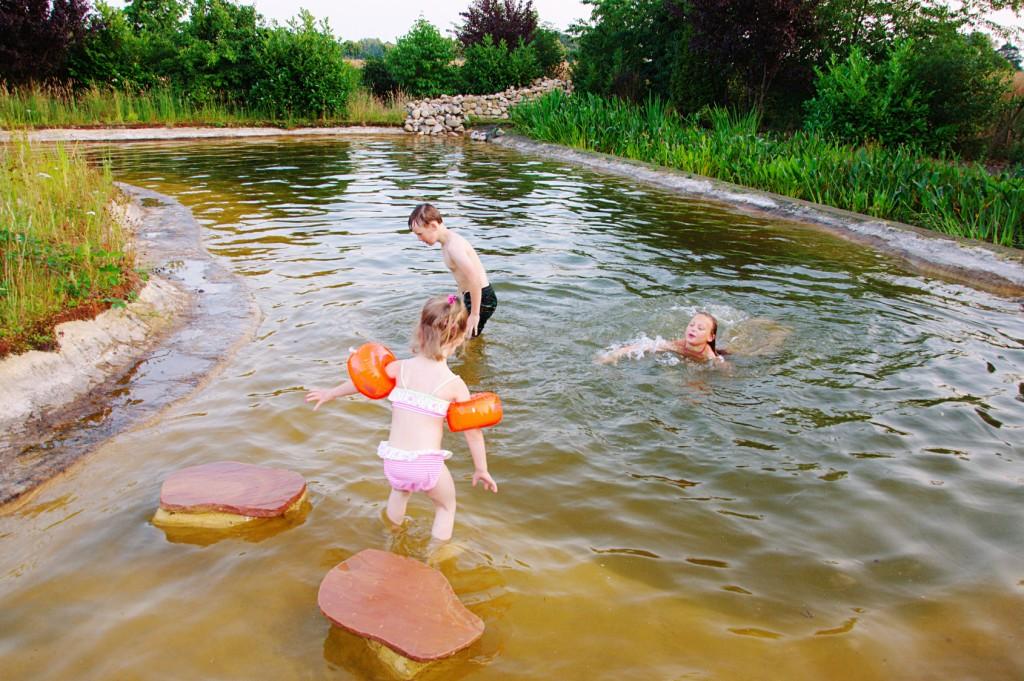 Der Schwimmteich hat einige Vorteile - jedoch sollte man über die Nachteile genauso Bescheid wissen. (#01)