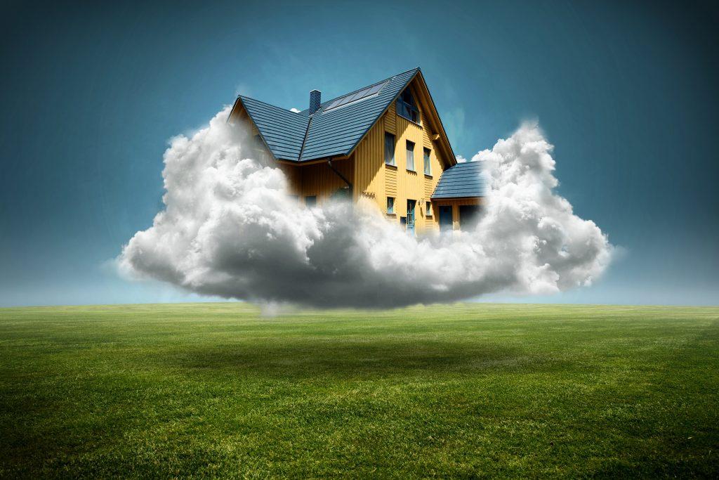 Volle Auftrgasbücher bei Bauunternehmen. Ein Traumhaus in dem es sich gut träumen lässt