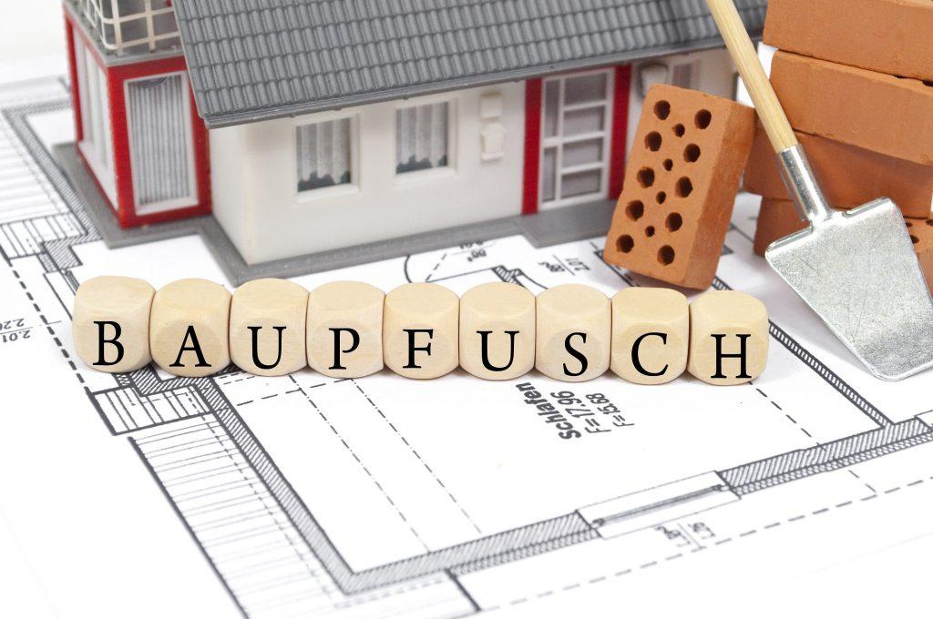 Volle Aufragsbücher bei Baufirmen, tja ob da der Baupfusch vorprogramiert ist?