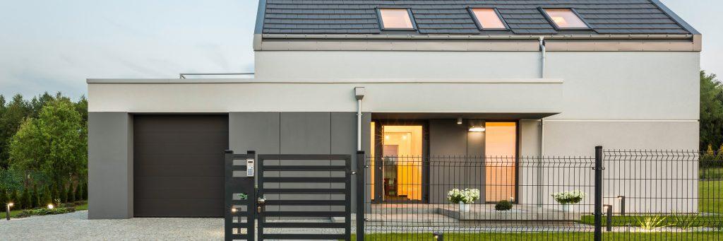 Doppelstahlmatten wie ich finde ne superschöne, moderne und pflegeleichte Alternative für Haus und Garten