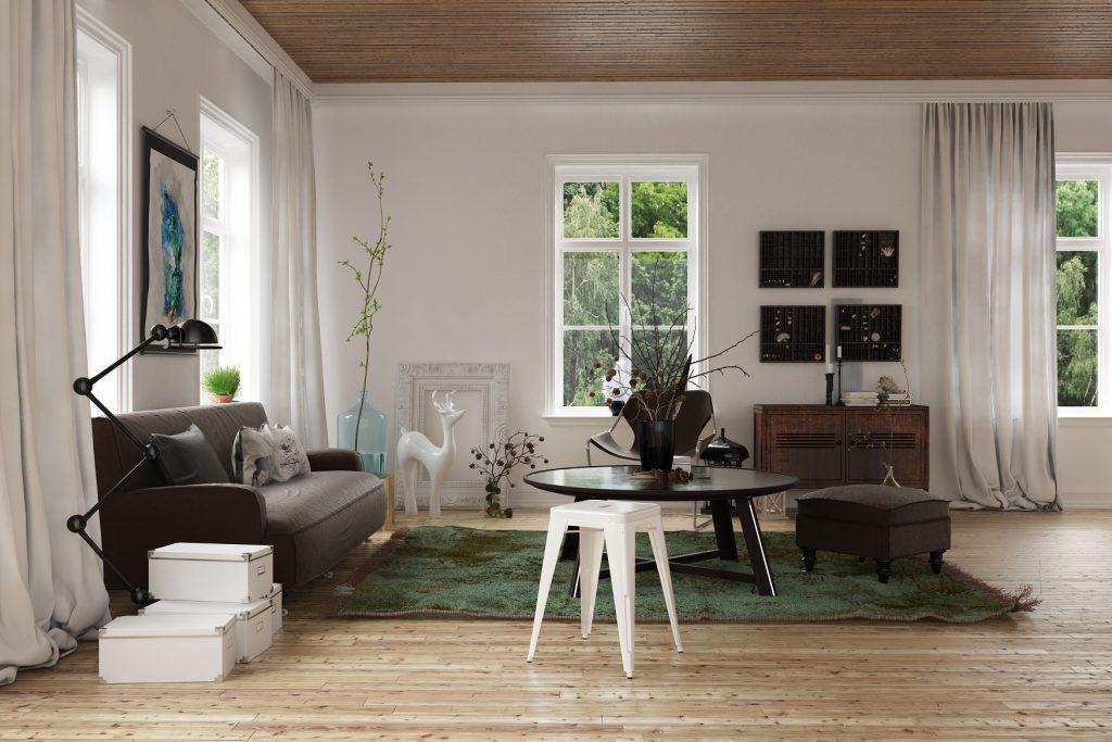 Auch sknadinavische Möbel haben ihren Reiz