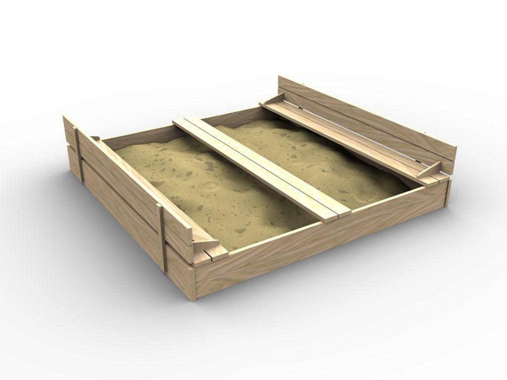 Wieder eine andere Version eines Sandkastens