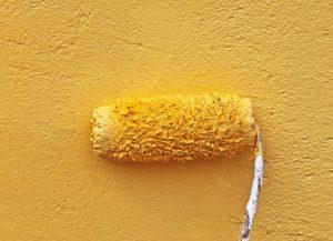 Der finale Anstrich bzw. der Endanstrich erfolgt ebenfalls mit unverdünnter Farbe (#5)