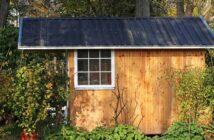 Grenzabstand vom Gartenhaus: Die Sache mit der Baugenehmigung
