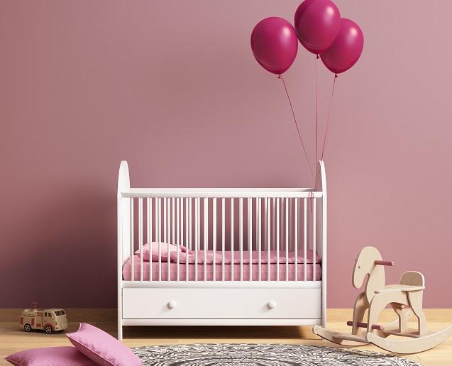 Rosa: Laut Experten eignet sich dieser Farbton am besten für Schlafräume.