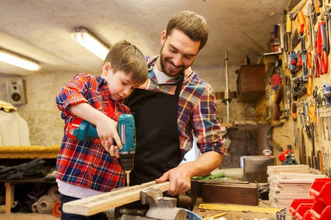 Holz bearbeiten ist mit dem richtigen Werkzeug kinderleicht. (#7)