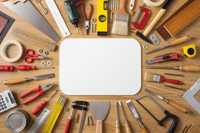 Denken Sie auch daran, sich eine qualitativ hochwertige Werkzeug-Grundausstattung zu besorgen. (#5)