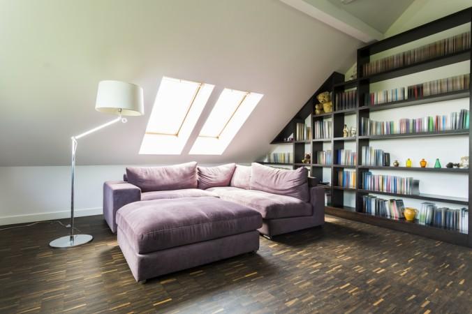 Wie wäre es mit einer Leseecke unter der Dachschräge - oder doch lieber gleich die eigene Heim Bibliothek? (#6)