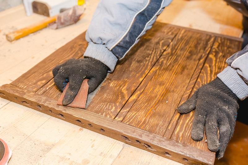 Holz Schleifen