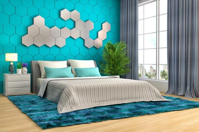 Auch ganz klassische Boxspringbetten können mit modernen und farbigen Dekoelementen, Kissen und Tagesdecken, jedes Schlafzimmer zu einer innovativen Schlafstätte werden lassen. (#5)