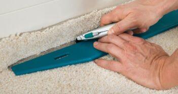 Teppichboden verlegen ohne kleben: Kein Kunststück!