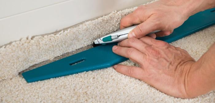 Beliebt Teppichboden verlegen ohne kleben: Kein Kunststück! GF48