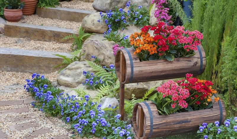 Selbstgemachte Deko macht den eigenen Garten unverwechselbar. (#01)
