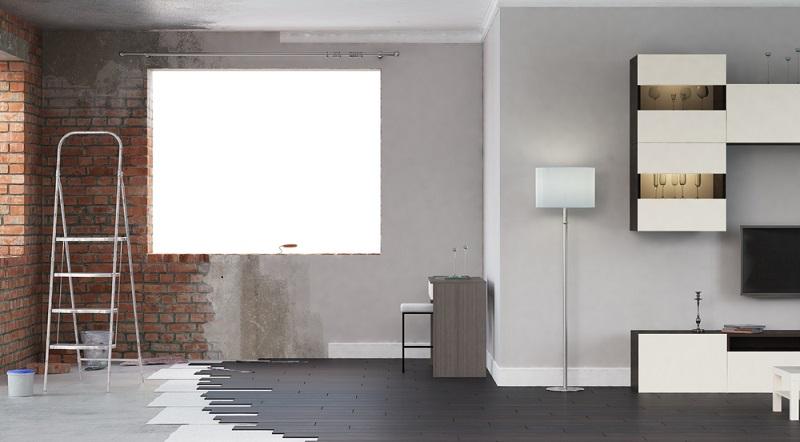 Geld leihen und verleihen: Dringende Renovierungsarbeiten am Haus lassen sich nicht lange aufschieben. (#01)