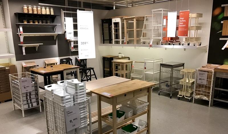 Ikea Hacks für die Kueche, hier kommen Unterregale aus Metall oft als zusätzliche Schublade zum Einsatz. (#02)