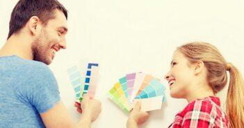 Wandfarben Ideen: Für Innen- und Außenwände