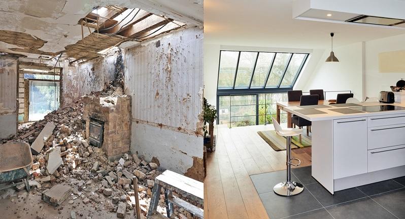 Besonders wenn es darum geht, ein älteres Gebäude optisch und technisch auf den neuesten Stand zu bringen, ist es wichtig, zunächst die typischen Mängel zu erkennen und einen genauen Plan für deren Beseitigung aufzustellen. (#01)