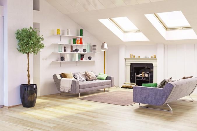 Bei den Sitzmöbeln für Dachschrägen sollten Sie darauf achten, dass die Rückenlehnen nicht zu hoch sind. Zudem sollten Sie beim Aufstellen bedenken, die richtige Position zu finden, dass sich beim Aufstehen niemend den den Kopf stößt. (#3)