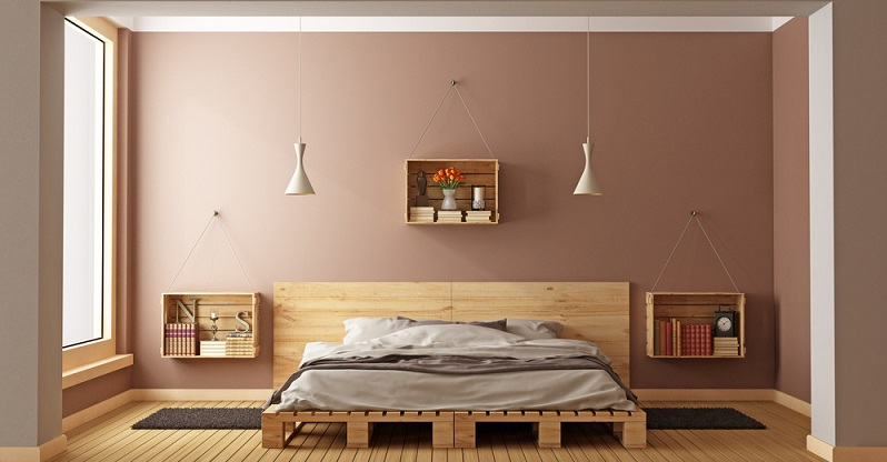 Von B wie Bett und G wie Garderobe bis hin zu S wie Sofa, T wie Tisch oder W wie Wandregal - die Möglichkeiten, sich aus Paletten aus Holz selber Möbel zu bauen, sind schier unendlich. (#01)