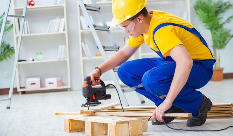 Wer Möbel selber bauen will, kommt an ihnen nicht vorbei: Europaletten. (#03)
