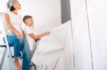 Tapeten entfernen leicht gemacht: So bereiten Sie die Wände für das Tapezieren vor