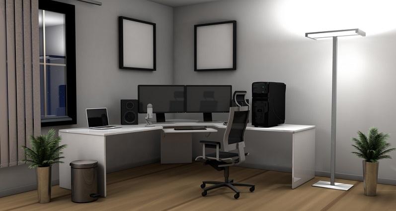 Eine ergonomische Büroeinrichtung: Diese Phrase ist in den letzten Jahren zum Schlagwort geworden. (#02)