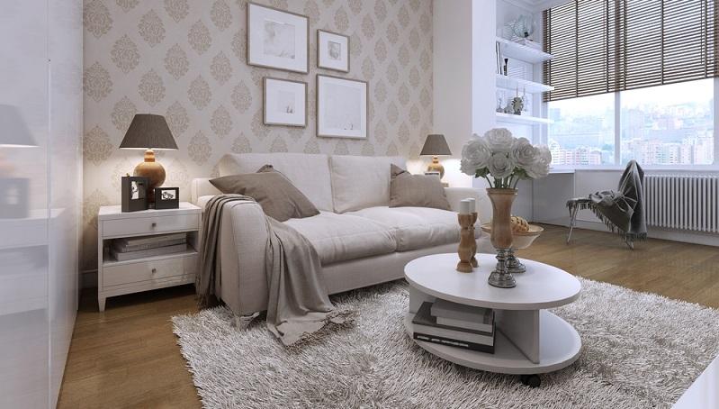 Mit Tapeten Ideen kann man eine Wohnung völlig neu gestalten. (#06)