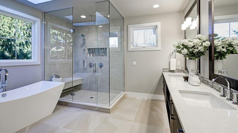 Das moderne Badezimmer wird immer mehr zur Wohlfühloase.(#01)