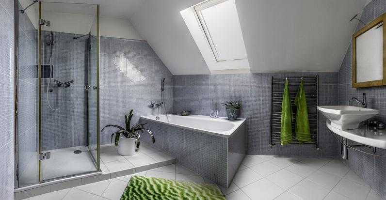 Die Dusche zählt zu den wichtigsten Ausstattungselementen eines Badezimmers. (#03)