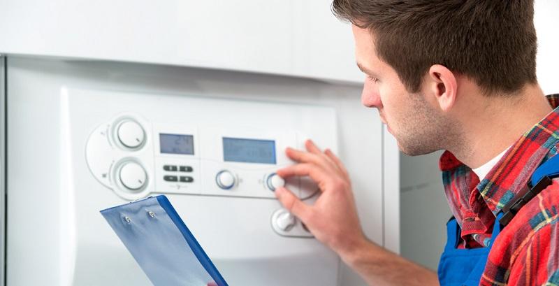 Eine Gasheizung produziert Wärme mit Hilfe der Brennwerttechnik und erreicht dabei einen hervorragenden Wirkungsgrad von 98 Prozent. Nahezu die gesamte im Gas enthaltene Energie kann also in Heizwärme umgewandelt werden.(#01)