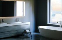 Badspiegel: Dekorativ und praktisch