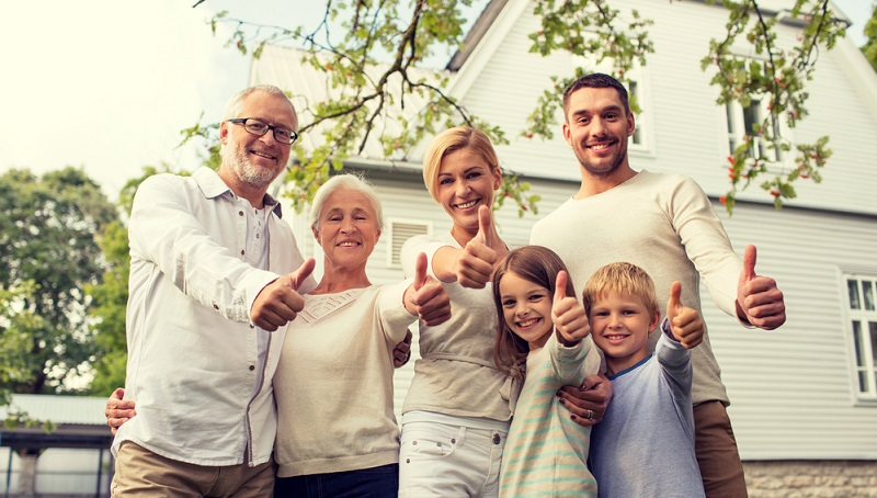 Generationenhaus – die Lösung für Großfamilien und solche, die es werden wollen