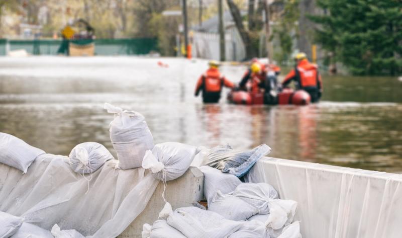 Die Menschen können durchaus etwas zum Hochwasserschutz beitragen, indem sie ihr eigenes Hab und Gut schützen.