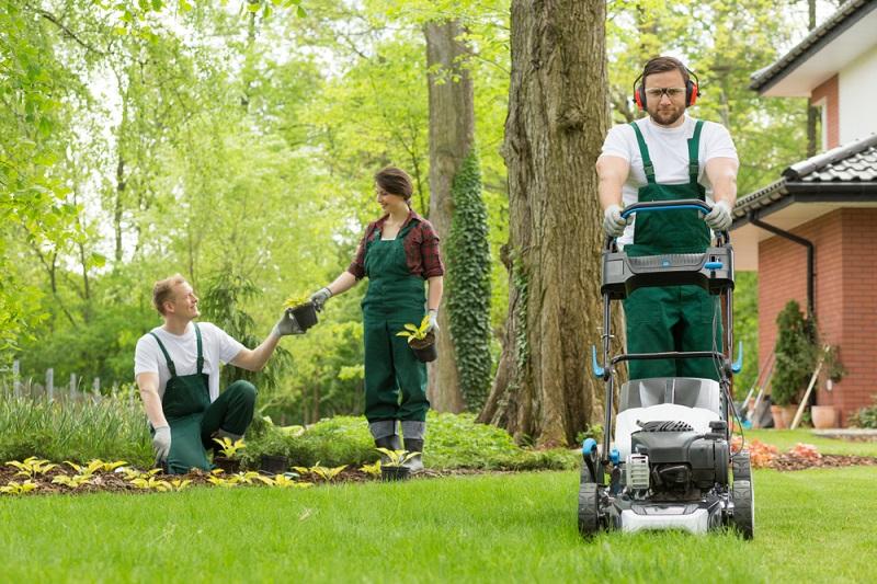Lärmbelästigung Nachbarn: Während der Ruhezeiten ist jede laute Betätigung, verboten. Also darf man den Rasen in dieser Zeit nicht mähen. (#01)