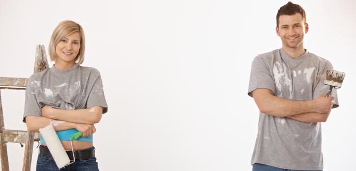 Schönheitsreparaturen Mieter: Effektive Tipps für weniger Aufwand (Foto: Shutterstock - StockLite)