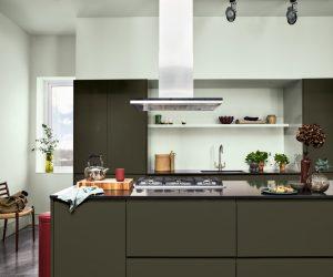 Küche renovieren ganz einfach: mit neuem Lack oder mit neuen Fronten zum neuen Look. (Foto: Dulux)