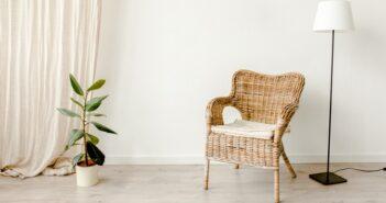 Wohntrends 2020: Geflecht, Asymmetrie und satte Pastellfarben (Foto: Shutterstock-_InterStudio )