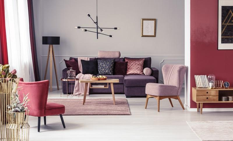 Der moderne Art déco Look verleiht der Einrichtung einen Hauch von Luxus  ( Foto: Shutterstock-Photographee.eu)