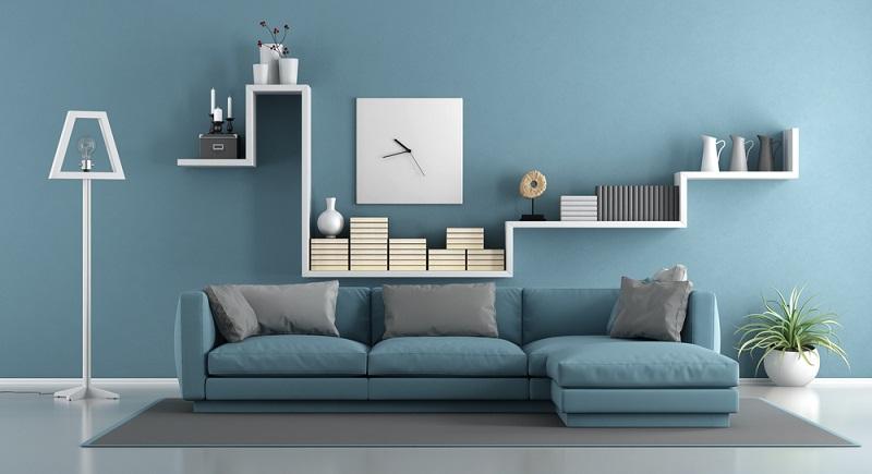 Möbelstücke und Deko-Gegenstände sind aufeinander abgestimmt und führen die Formen des jeweils anderen Teils fort.  ( Foto: Shutterstock-archideaphoto )