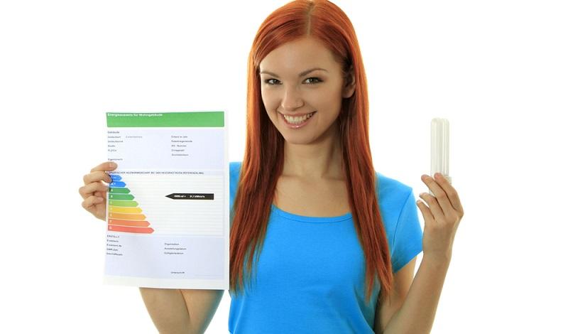 Ein guter Energiekennwert ist 25 bis 50 kWh/m² pro Jahr. Im Energieausweis ist eine Skala vermerkt, nach der sich der Energieverbrauchswert einordnen lässt. ( Foto: Shutterstock-footageclips )