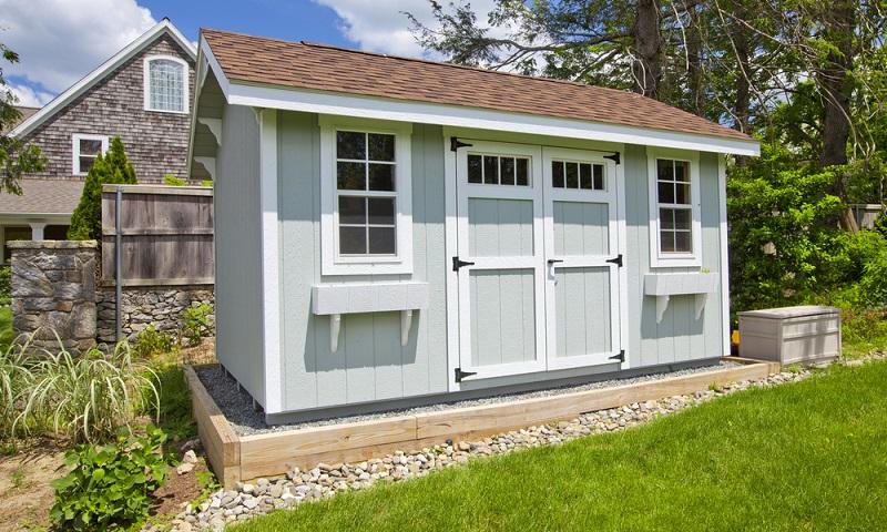 Ein winterfestes Gartenhaus zum Wohnen nutzen? (Foto: Shutterstock-Stuart Monk )